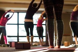 cozy yoga